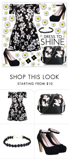 """""""Daisy outfit :D"""" by elusiin ❤ liked on Polyvore featuring New Look and Tory Burch"""