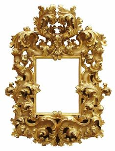 A palatial and museum quality Italian century Florentine Rococo giltwood carved mirror frame. The ornately carved frame with scrolls and acanthus, all gilt is original, circa Florence, Height: 68 inches cm). Mirror Plates, Oval Mirror, Diy Mirror, Mantel Mirrors, Wood Framed Mirror, Wall Mirrors, Antique Picture Frames, Antique Frames, Rococo