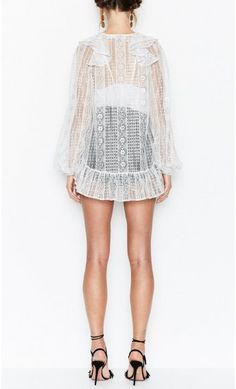 The Look Blouse Silver