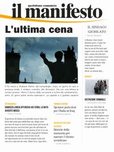 Informazione Contro!: L' ULTIMA CENA