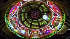 Corazón Under the Dome at Westfield Centre. Obscura Digital brings the Westfield San Francisco Centre's iconic dome to life each evening wit...
