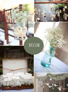 Soft as Baby's Breath - Gypsophila Wedding Ideas