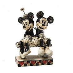 Minnie und Micky Maus - Figur #MickyMaus #Muttertag #mothersday ©Disney
