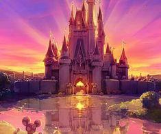 Image de disney, castle, and disneyland