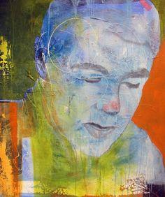 MITT NAVN ER BY ANNE-BRITT KRISTIANSEN  #fineart #art #painting #kunst #maleri #bilde  www.annebrittkristiansen.com/anne-britt-kristiansen-kunst-2012 Paintings, Fine Art, Photo Illustration, Paint, Painting Art, Painting, Visual Arts, Portrait, Drawings