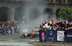 Formula 1 deja marca en el Zócalo de la CDMX