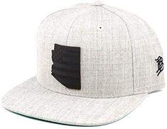 ZOENA Wild Wolf Hip-Hop Cotton Hats Sports Snapback White