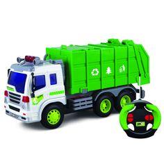 Грузовик-мусоровоз нарадиоуправлении