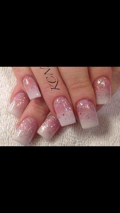Pink/white gel