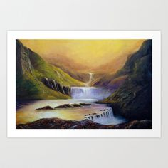 Summerland, Art Print by Helena Hsieh