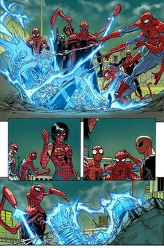 The Superior Spider-Man #33 interior art by Guiseppe Camuncoli *