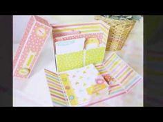 Tutorial stationery box caja para escritorio en colaboración con Anita y su mundo - YouTube