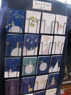 petit prince postcards