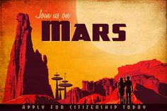 How difficult will it be to colonize Mars? Colonising Mars, Mars Colony, Space Colony, Mars Planet, Space Illustration, Illustrations, Science Fiction Art, Science Fair, Technology Posters