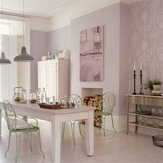 French-style dining area