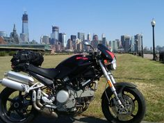 Liberty State Park with lower Manhattan as the backdrop.