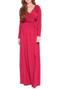 Olian 'Angelina' Maternity Maxi Dress at Nordstrom.com.