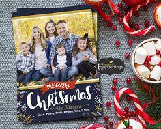 Christmas Photo Cards Printable Christmas Cards Template