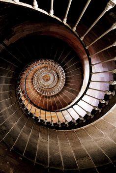 Like the inside of a shell - beautiful!