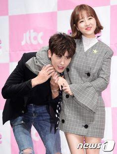 Cute Couple Art, Cute Couples, Strong Girls, Strong Women, Korean Celebrities, Korean Actors, Strong Woman Do Bong Soon Art, Park Hyungsik Strong Woman, My Shy Boss