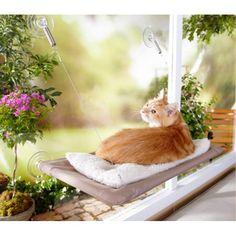 Závěsný pelíšek pro kočky na okno