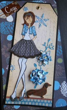 Awwwww ..... love Lani's Prima Doll tag with the little dachshund!