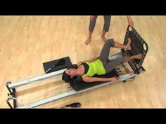 ▶ Stability Barre™ with Reformer & Cardio-Tramp™ Rebounder - YouTube