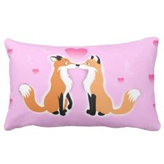 #fox #foxes #heart #pink #valentines #day