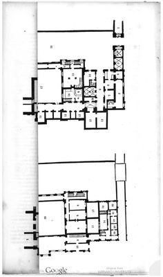 Chatsworth House England Floor Plan