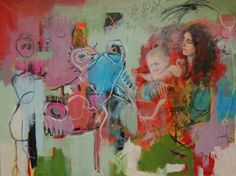 "Saatchi Art Artist Veronica Byers; Painting, ""Childhood"" #art"