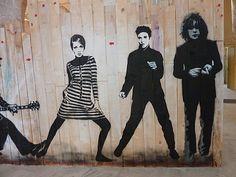orléans jef aérosol Twiggy, Elvis Presley, Syd Barrett