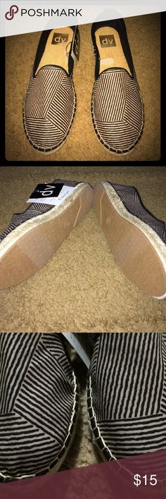 DV shoes Size 6 1/2. Brand new with tags. Black and white. DV by Dolce Vita Shoes Flats & Loafers