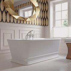 Imperial a long time leader in Bath. Imperial Windsor KEW Luxury Freestanding Matt Finish Bath 1690 x now available at AQVA Direct. Traditional Baths, Traditional Bathroom, Imperial Bathrooms, Double Ended Bath, Royal Bathroom, Style Ancien, Cast Iron Bath, Bath Panel, Roll Top Bath