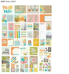 Love this new collection from #simplestories! #youarehere ...so fun!