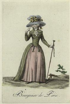 Bourgeoise de Paris 1787