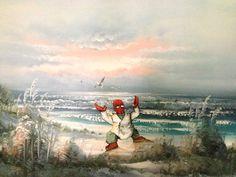 Humorous Recreations of Unwanted Thrift Store Paintings - My Modern Metropolis