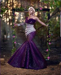 Being stylish in your Aso-ebi styles is not an option it is a necessity and you don't want to deny yourself that opportunity to always stand out in your Aso-ebi… Cord Lace Styles, Lace Dress Styles, African Lace Dresses, Latest African Fashion Dresses, African Clothes, Nigerian Lace Styles, Aso Ebi Lace Styles, Ankara Styles, African Wedding Attire