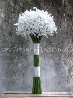 Biały bukiet ślubny