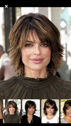 get confused between messy and shag hairstyles. Next step is keeping it simple b. get confused bet Short Punk Hair, Shaggy Short Hair, Short Hairstyles For Thick Hair, Short Hair With Layers, Short Hair Cuts, Bob Hairstyles, Lisa Renna Hairstyles, Short Pixie, Pretty Hairstyles