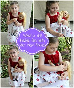 Dollie & Me, Dolls and Matching outfits Review! #holiday #toys #kids