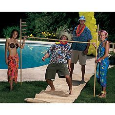Gotta have limbo at a beach party!