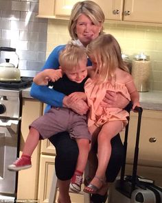 Ms Stewart is no stranger to boasting about her grandchildren, who were born via surrogacy. Recently she spoke up about how Jude is a particularly worldly child.