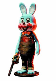 Gecco Silent Hill 3 Robbie The Rabbit PVC Figure Blue Version -- Be sure to check out this awesome product.