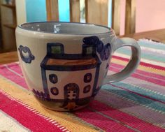 A personal favorite from my Etsy shop https://www.etsy.com/listing/256198157/ma-hadley-mug-ceramic-home-hpuse-flowers