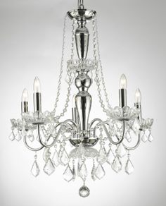 G7-843/5 Royal Collection 5 Lights Crystal Chandelier