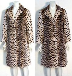 Just had to throw these faux fur coats into this board - bc they are awesome Cheetah Nursery, Vintage Style, Vintage Fashion, Cheetah Animal, Fur Coats, Fascinator, Faux Fur, Diva, Objects