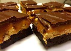 Snilleskök - Snickers brownies