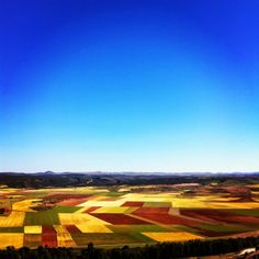 I love the fields of Soria (http://ytanflamenca.blogspot,com)