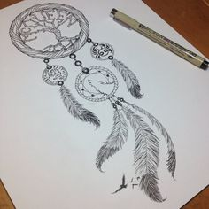 Dreamcatcher Tattoo by somatic7.deviantart.com on @deviantART