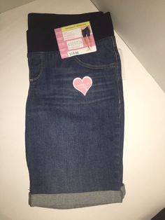 4dbadd39e99cf Great Expectations Maternity Bermuda Shorts Blue Jean Denim Size Large (12- 14) #fashion #clothing #shoes #accessories #womensclothing #maternity (ebay  link)